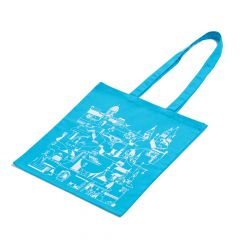 Budapest canvas tote - blue