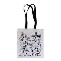 Budapest canvas tote