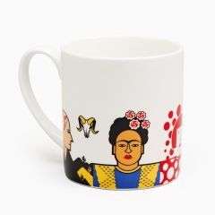 Great Modern Artists mug - Frida Kahlo - Sonja Delaunay
