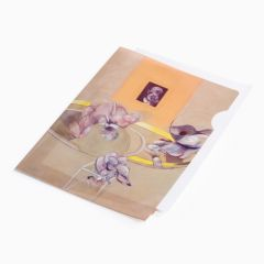 Francis Bacon: Three Figures and Portrait A4 plastic folder