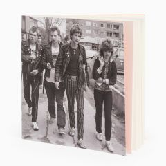 Fortepan stitched notebook-Punks