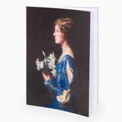 A5 notebook with Lady Alastair Graham's portrait