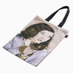 Lucian Freud: Girl with a Kitten Canvas Tote