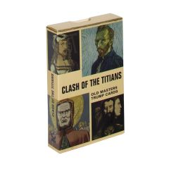 Clash of the Titians: Old Masters Trump Game Cards