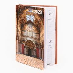 2020 Pocket diary - Museum of Fine Arts, Budapest, Romanesque Hall