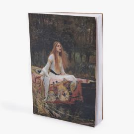 Waterhouse, The Lady of Shalot notebook