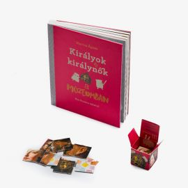 Kings and Queens memory game and book