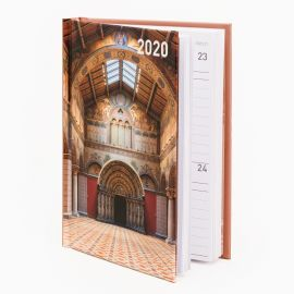 2020 calendar - Romanesque Hall at Museum of Fine Arts, Budapest